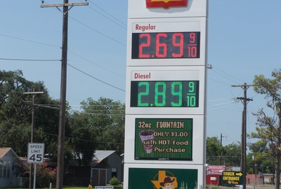 Project: Cuero's Texan #5, Texan #5 Sign