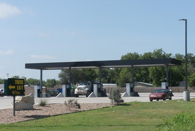 Project: Cuero's Texan #5, Texan #5 Diesel Canopy