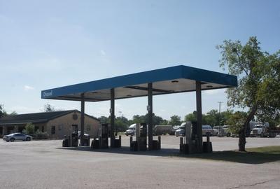 Project: Yorktown's Texan Store, Texan Diesel Canopy Updates